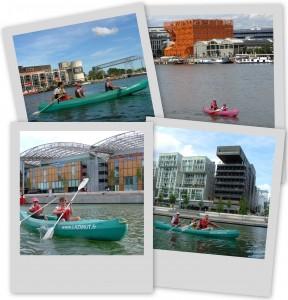 location canoë - kayak à Confluence avec L'Azimut